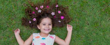 Cuidados com crianças de 3 e 7 anos na primavera